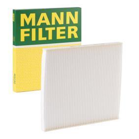 Filter, Innenraumluft Länge: 227mm, Breite: 201mm, Höhe: 17mm mit OEM-Nummer 97133-2E210