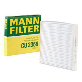 Filter, Innenraumluft Länge: 224mm, Breite: 234mm, Höhe: 30mm mit OEM-Nummer 80292-SDC5-05H-E