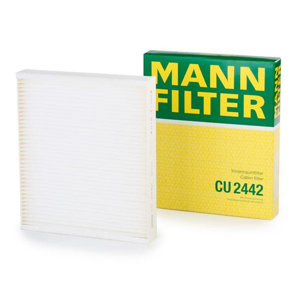 Filtro del habitáculo CU 2442 MANN-FILTER CU 2442 en calidad original