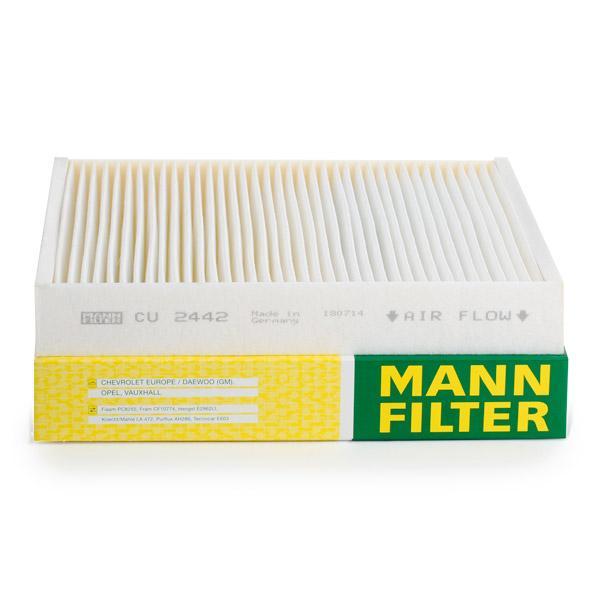 Filtro de Habitáculo MANN-FILTER CU 2442 evaluación