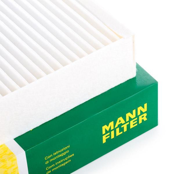 Filtro de aire acondicionado MANN-FILTER CU2442 conocimiento experto