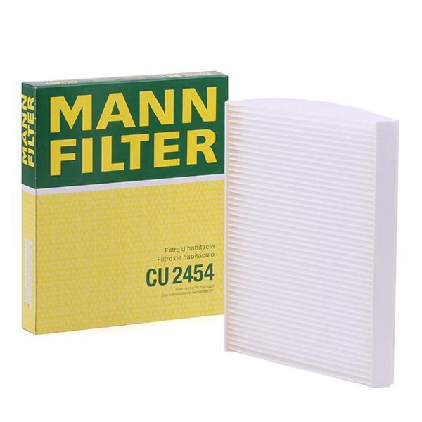 Cabin Air Filter MANN-FILTER CU2454 expert knowledge