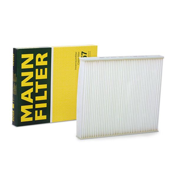 Pollenfilter MANN-FILTER CU 2757 Bewertung