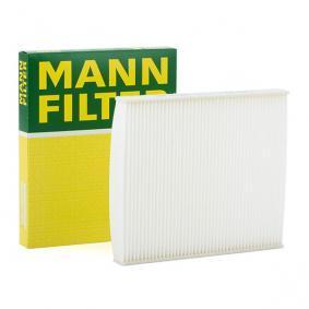 Filter, Innenraumluft Länge: 267mm, Breite: 234mm, Höhe: 30mm mit OEM-Nummer 18 02 422