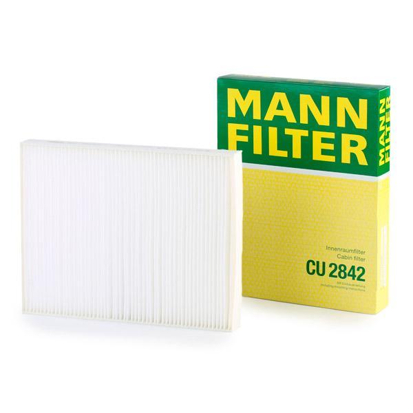 Filtro de Polen MANN-FILTER CU 2842 evaluación
