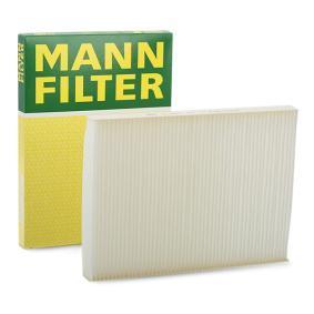 Filter, Innenraumluft Länge: 280mm, Breite: 206mm, Höhe: 25mm mit OEM-Nummer 1H0819644B
