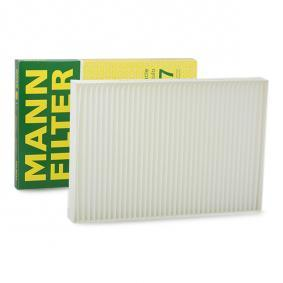 Filter, Innenraumluft Länge: 300mm, Breite: 204mm, Höhe: 31mm mit OEM-Nummer 4 B0 819 439 C