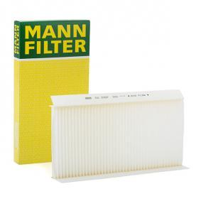 Filter, Innenraumluft Länge: 331mm, Breite: 164mm, Höhe: 30mm mit OEM-Nummer 917 9904