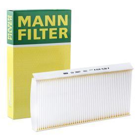 Filter, Innenraumluft Länge: 350mm, Breite: 162mm, Höhe: 30mm mit OEM-Nummer 1062253