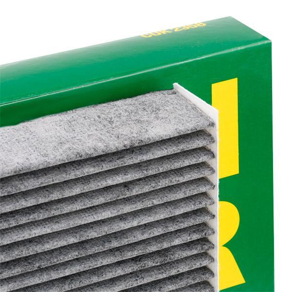 Filtro, aire habitáculo MANN-FILTER CUK2358 conocimiento experto