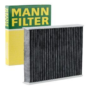 Filter, Innenraumluft Länge: 240mm, Breite: 190mm, Höhe: 35mm mit OEM-Nummer 256H-19G244-AA