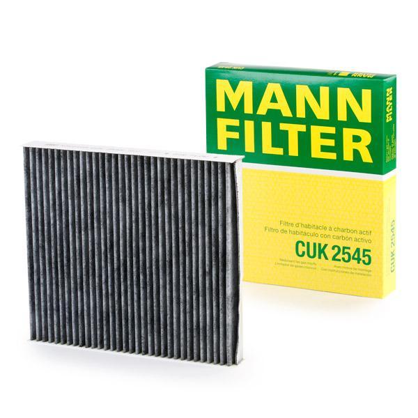 Cabin Air Filter MANN-FILTER CUK2545 expert knowledge