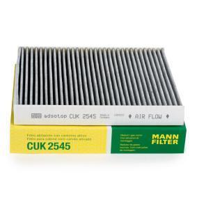 Filter, Innenraumluft Länge: 246mm, Breite: 216mm, Höhe: 32mm mit OEM-Nummer 463 830 00 18