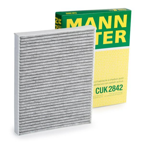 Filtro de Habitáculo CUK 2842 MANN-FILTER CUK 2842 en calidad original