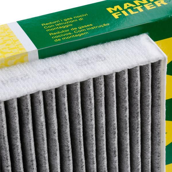 Filtro, aire habitáculo MANN-FILTER CUK2842 conocimiento experto