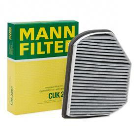Filter, Innenraumluft Länge: 273mm, Breite: 217mm, Höhe: 54mm mit OEM-Nummer 210 830 0818