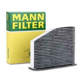 Filter, Innenraumluft Länge: 288mm, Breite: 215mm, Höhe: 34mm mit OEM-Nummer 1 K1 819 653 B