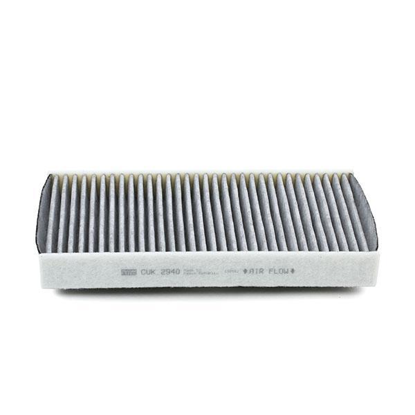 Filtro, aire habitáculo MANN-FILTER CUK 2940 4011558403904