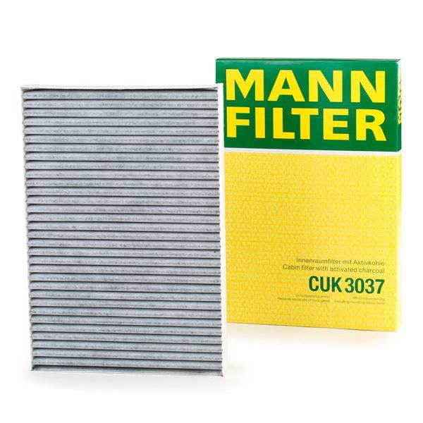 Staubfilter MANN-FILTER CUK3037 Erfahrung