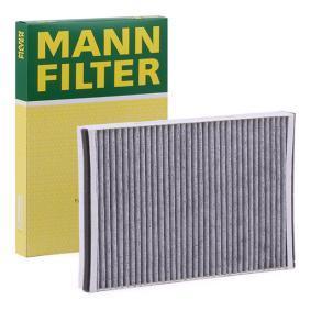 MANN-FILTER  CUK 3054 Filtru, aer habitaclu Lungime: 302mm, Latime: 199mm, Înaltime: 31mm