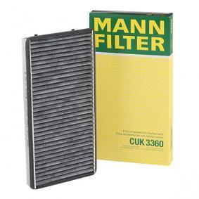 CUK 3360 MANN-FILTER CUK 3360 alkuperäisen laatuiset