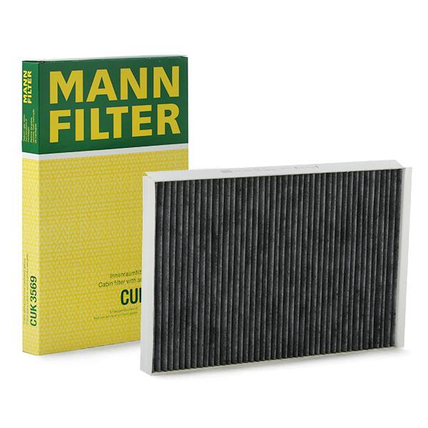 Innenraumfilter CUK 3569 MANN-FILTER CUK 3569 in Original Qualität