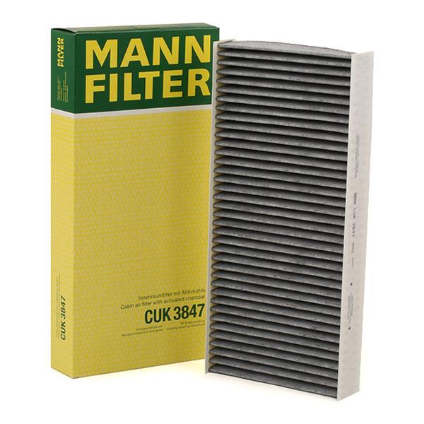 Staubfilter MANN-FILTER CUK3847 Erfahrung