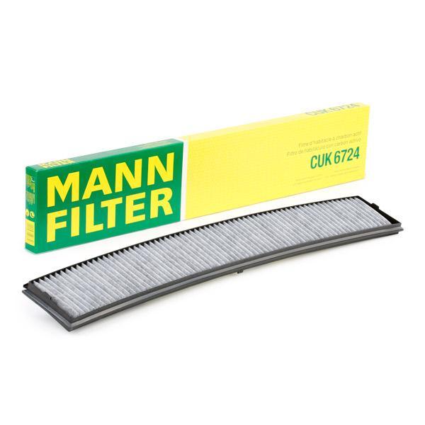 Innenraumfilter CUK 6724 MANN-FILTER CUK 6724 in Original Qualität