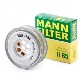 MANN-FILTER H85 expert knowledge
