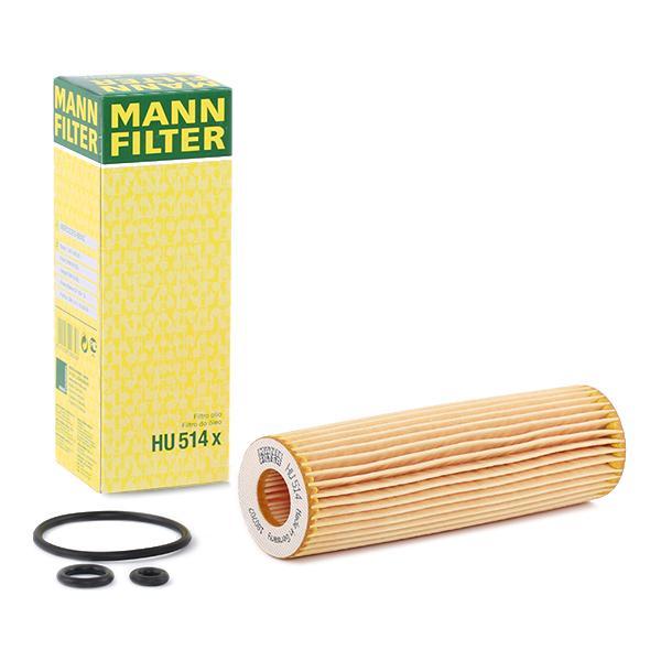 Ölfilter MANN-FILTER HU514x Erfahrung