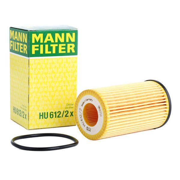 Filtro de Aceite MANN-FILTER HU612/2x conocimiento experto