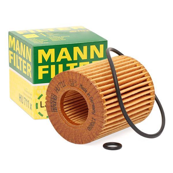 Ölfilter MANN-FILTER HU711x Erfahrung