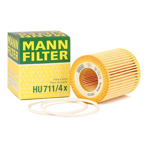 Filtro olio motore MANN-FILTER HU711/4x conoscenze specialistiche