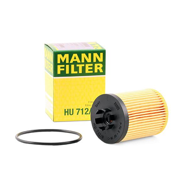 Ölfilter MANN-FILTER HU712/8x Erfahrung