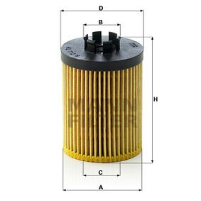HU 712/8 x MANN-FILTER od výrobce až - 24%!
