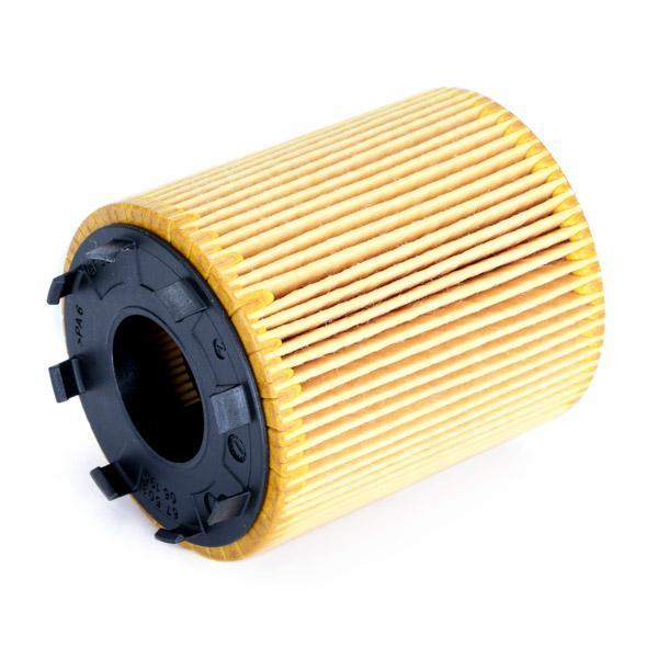 Filtro de aceite de motor MANN-FILTER HU 713/1 x 4011558297008