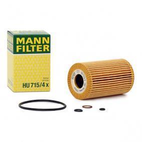 MANN-FILTER HU 715/4 x 4011558292706