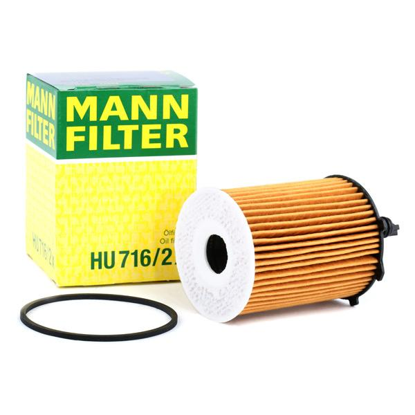 Filtro de aceite motor MANN-FILTER HU 716/2 x evaluación