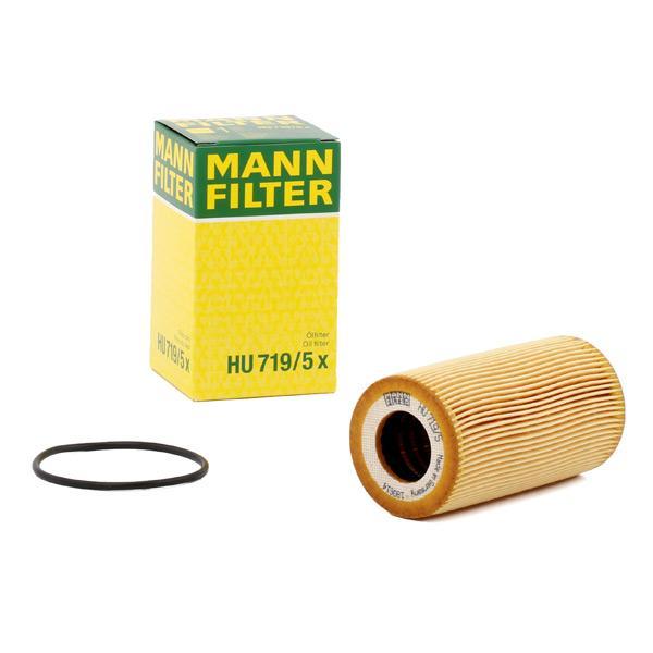 Filtro de aceite de motor MANN-FILTER HU719/5x conocimiento experto