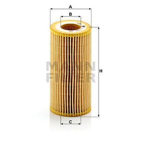 MANN-FILTER HU719/6x EAN:4011558293000 Shop