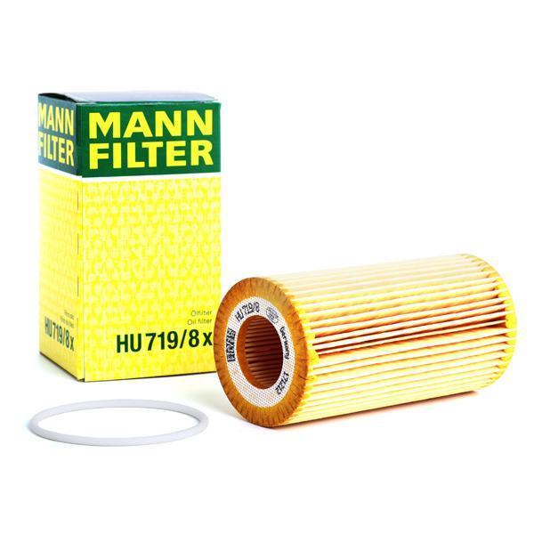 Filtro de aceite de motor MANN-FILTER HU719/8x conocimiento experto