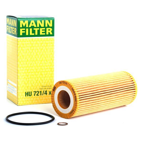 Oil Filter MANN-FILTER HU721/4x expert knowledge