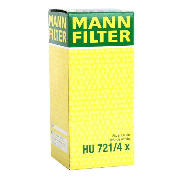 Article № HU 721/4 x MANN-FILTER prices