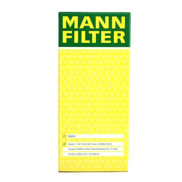 MANN-FILTER Art. Nr HU 721/4 x günstig