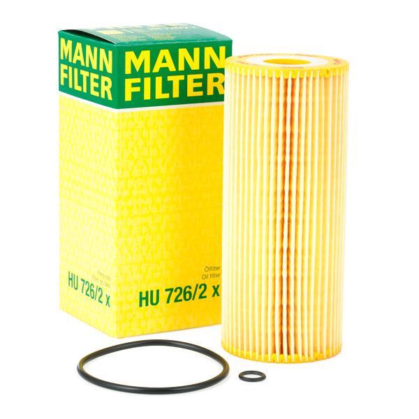 Filtro olio motore MANN-FILTER HU726/2x conoscenze specialistiche