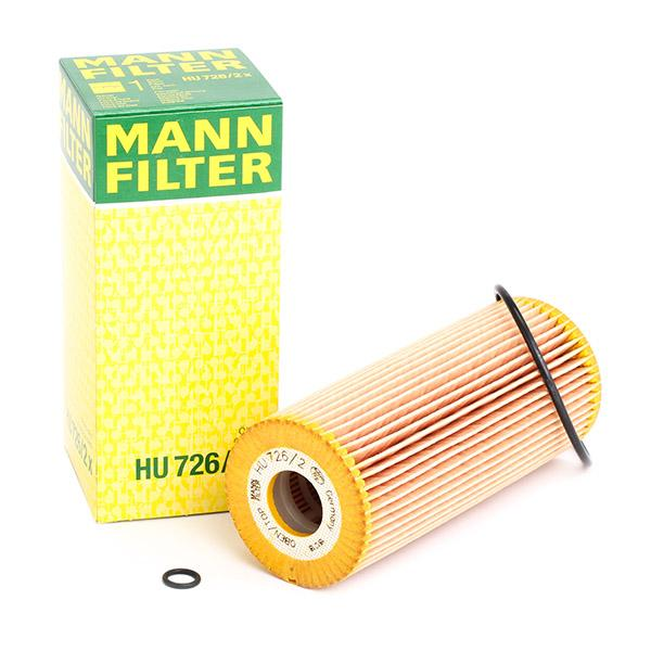 Ölfilter MANN-FILTER HU 726/2 x 4011558292805
