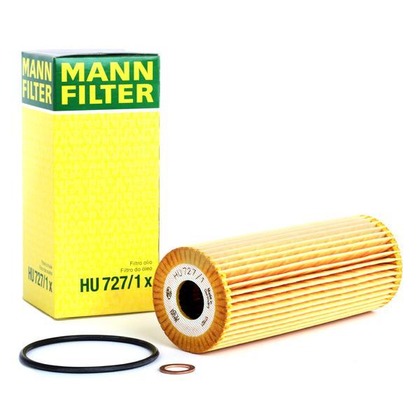Filtro de aceite de motor MANN-FILTER HU727/1x conocimiento experto