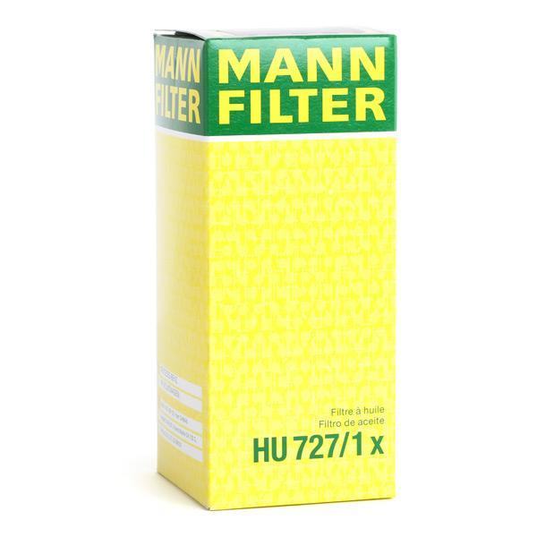 Número do artigo HU 727/1 x MANN-FILTER preços
