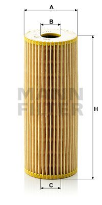 MANN-FILTER HU727/1x EAN:4011558406202 Shop