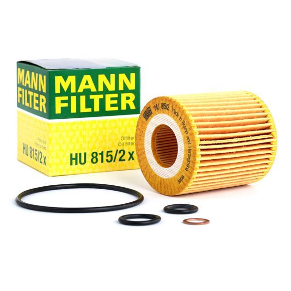 Ölfilter MANN-FILTER HU815/2x Erfahrung